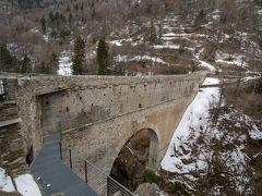 古代ローマの水道橋ポン・デル(Pont d'Ael)