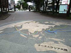 幕末から明治にかけての、薩摩と世界との交流を表した世界地図。 この頃から薩摩は世界と繋がっていたのですね。