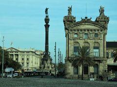 建物の左側の塔がコロンブスの塔です。