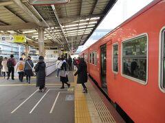 10時33分。吉備津駅から15分で終点の岡山駅に着きました。  (つづく)