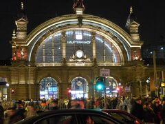 17:25 ブーツバッハから40分でフランクフルト中央駅に着きました。