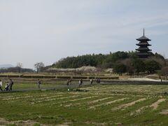吉備路もてなしの館にクルマを停めて、五重塔がある備中国分寺周辺を散策です。