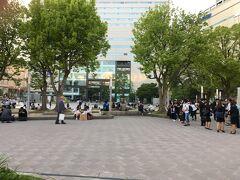 東京でも渋谷や後楽園が似たような構造をしていますが、博多はビルの規模が桁違いでした。