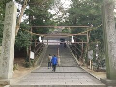 次に吉備津神社へ行きます。