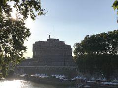 その先にはサンタンジェロ城。