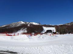 約40分で「あだたら高原スキー場」に到着!