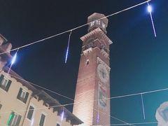 ベローナのシンボルタワーである高さ84mのランベルティの塔
