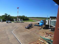 イグアスの滝国際空港(IGR)に着きました。
