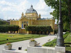 1896年5月2日に開会した芸術パビリオン。