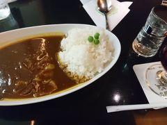 午後半休と言うことで仕事を終えて羽田空港へ。お昼ご飯は羽田空港でハヤシライスをいただきました。丸福珈琲店です。