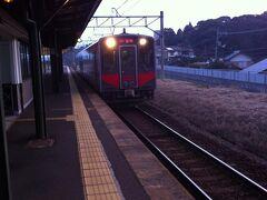 今度は玉造温泉駅に向かいます。