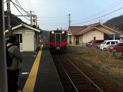 温泉津駅に戻り、今度は松江を目指します。