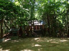 二の丸跡です。 千早神社があります。