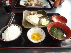こちらの道の駅は飲食店が複数あり食事情はなかなか充実。 「海鮮茶屋濱膳」でランチメニューの「焼魚定食」を食べました。
