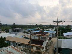 6:00 おはようございます。 南大東島に朝がやってきました。