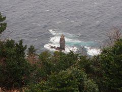 一応ローソク岩も観て。