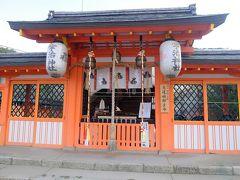 宇治神社の本殿. 本当の本殿は奥で,鎌倉時代建立と古く,国の重要文化財.