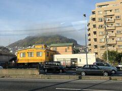 7:45  黄金山は雲を被ってます( ´艸`)  仁保付近 広島呉道路に乗る手前