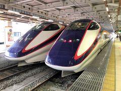 山形新幹線で山形駅まで向かいます。 つばさ初乗車なので私も楽しみ。