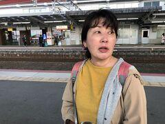 19日18:04 宮島口駅  ここから八丁堀に向かうのですが、参考までに…  広島駅まで行って路面電車で向かうルート (ヤフー路線情報で18:10-18:58)と  西広島駅から路面電車で向かうルート (ヤフー路線情報18:10-19:00)がありました。