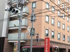 きょうはタマディアホテルに泊まります。 京急穴守稲荷駅下車3分位でした。