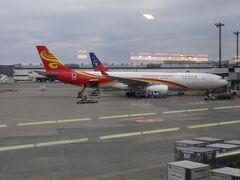 今回は香港航空を利用しました。バンコク往復ビジネスクラスで82000円でした。