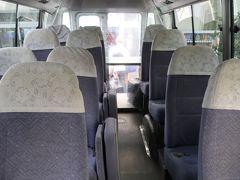 フジレンタカー営業所へ到着。返却はあっという間に終わり、すぐシャトルバスへ。