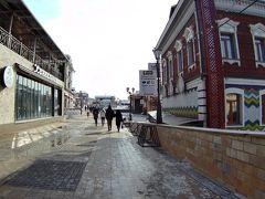 バブルの先は130地区と呼ばれる古い街並みを再現した観光名所です。