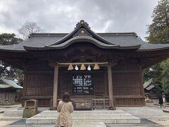 松江神社  松江城山公園内にあります  立ち寄りました