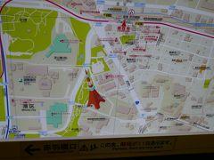 赤羽橋駅の構内に案内図が置いてあります。 分かりやすいはずですが、 実際に地上へ出ると・・・地図をぐるぐる(汗)