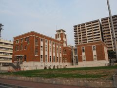 リノベーション建物。戸畑図書館(旧 戸畑市庁舎)