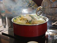 ランチはトロピカルで火鍋
