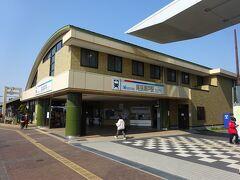 さて、瀬戸蔵から5分ほど歩いて、現在の尾張瀬戸駅にやってきた。