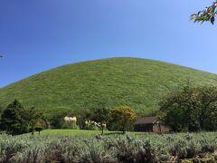 絶好のお天気だったので大室山へ。  徒歩で登れるのかな??と思ったらリフトだった・・・。
