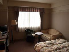 泊まったホテルの部屋1