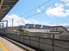 1時間ほどで軽井沢駅へ到着!!いいお天気なんだけど、、、さむーーーーっっ!!!