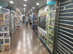香港のオタクビル、信和中心 お昼ごろなので閉まってるお店も多い