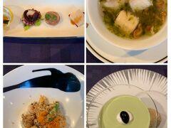 二日目の夕食は中華。全部ではないけどこんな感じ。