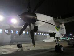 リトアニアのカウナスへ 22時発の飛行機は満席近い