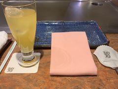 夕食は、ホテルから徒歩3分くらいのところにある「碧」で沖縄ステーキを。 まだハイシーズンではないので、他には2組だけでした。