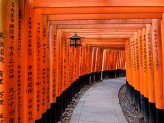 京都といえば 伏見稲荷の千本鳥居行ってきましたよ~~