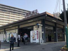 環状線桜ノ宮駅からスタートです。