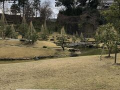 金沢城公園に到着。 写真は「玉泉院丸庭園」。