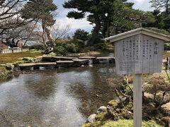 雁行橋(かんこうばし)。 亀の甲羅の形をした石が連なって 橋を作っています。 そのため別名:亀甲橋と言うそうです。