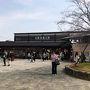 スタートは阪急嵐山線の嵐山駅。8:11に着いて、ここからゆるやかな坂を下ってまずは嵐山公園(中ノ島)へ向かいます。徒歩5分ほどです。今日は20℃まで上がるそうですが、朝はまだひんやりとしていて気持ちよかったです。