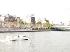 隅田川には船がいつもより多いような・・・