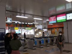 14:10 JR王寺駅に戻ってきました。