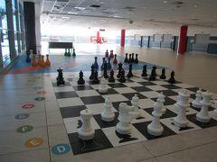 空港のチェス