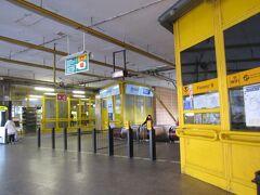 バスターミナルは基本的に近いがB線の駅からはわかりづらい場所