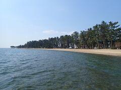 マキノサニービーチ 白砂青松の素敵なビーチ
